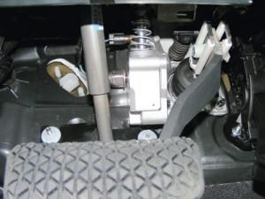 Pedal simu-SBA system