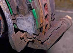 Toyota Hybrid brake job