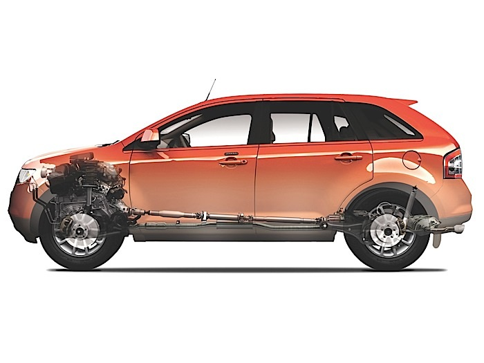 0 opening 2 ford edge brake replacement 2007 2014