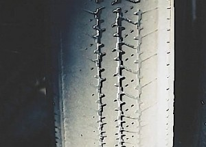 Under-inflated tires