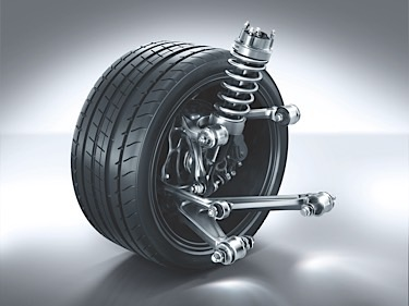 Mercedes-AMG GT (C 190) 2014; Doppelquerlenker-Hinterachse double-wishbone suspension at the rear axle