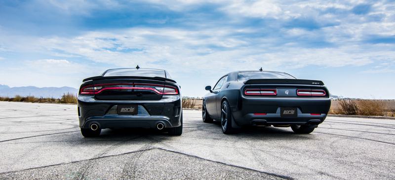Borla Cat Back Exhaust Systems For Dodge Charger And