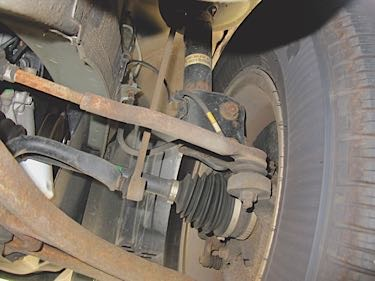 Front Compliance Bushings Honda Pilot