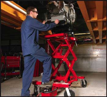 Mohawk Lifts Offers 2,000-lb  Capacity Scissor Lifting Table