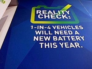 1-in-4 vehicles this year will need a battery. JCI rolls out a battery awareness campaign #aapex16 @JCI_BatteryBeat @BFEMagazine