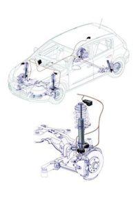 active shocks struts control module