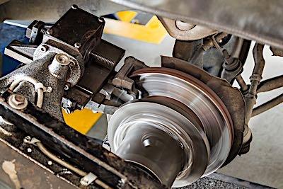 new brake rotor lathe