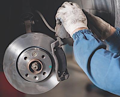 brake caliper service