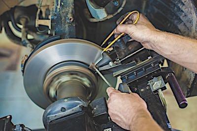 brake lathe rotor