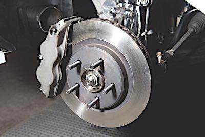 brake pad diagnostics rotor