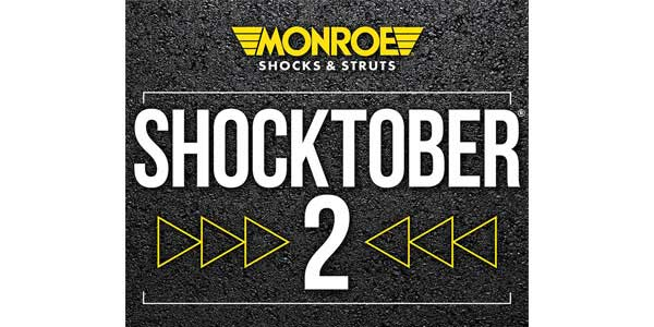 'Shocktober 2' Promotion Offers Consumers A New Way To Save On Monroe Ride Control Products
