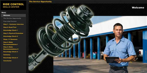 Expanded Tenneco eLearning Platform Created To Help Shops Target, Sustain Growth In Ride Control Category
