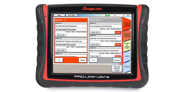 Snap-on Software Extends Scan Tool For Light And Medium Trucks