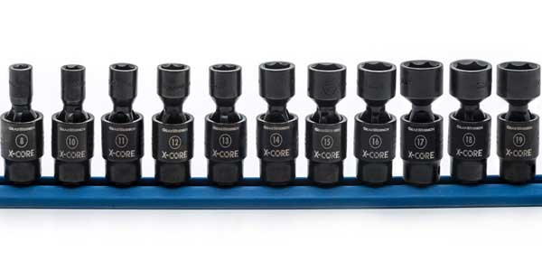 GearWrench Introduces X-Core Pinless Universal Impact Sockets