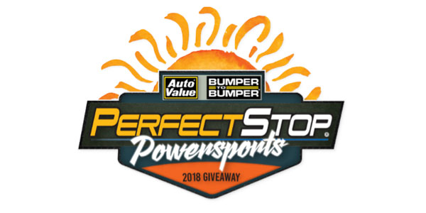 Auto Value And Bumper To Bumper Launch Summer 2018 Perfect Stop Powersports Giveaway