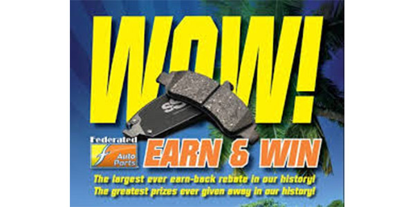 Fisher Auto Parts Kicks Off Part 2 Of 'WOW! Earn And Win!' Promotion