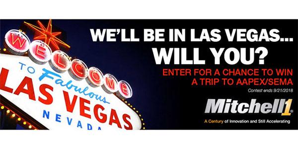 Mitchell 1 Brings Back 'Fabulous Las Vegas' Sweepstakes
