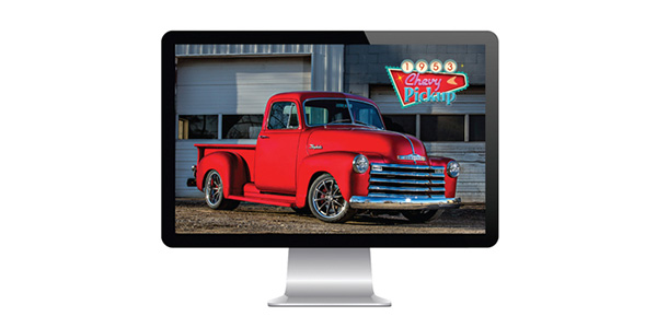 Free Raybestos 1953 Chevy Pickup Screensaver Now Available