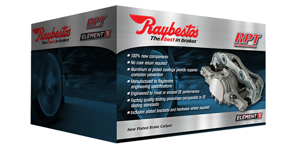 Raybestos Expands Caliper Coverage, New Part Numbers Added To Element3 And R-Line