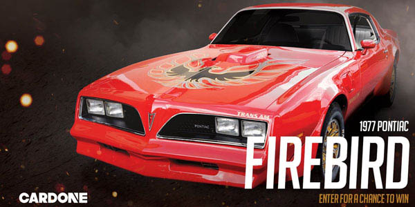 CARDONE To Give Away All-American Muscle Car: '77 Firebird