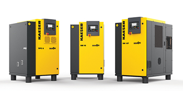 Kaeser Compressors Introduces Redesigned SM Series Rotary Screw Compressors
