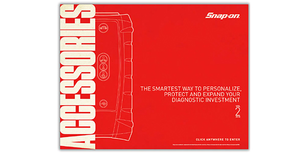 Snap-on Offers Interactive Accessories Catalog