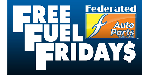 Federated Free Fuel Fridays Are Back