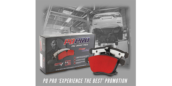 Centric Parts' PQ PRO 'Experience The Best' Promotion Lets Technicians Try Premium Brake Pads For Free