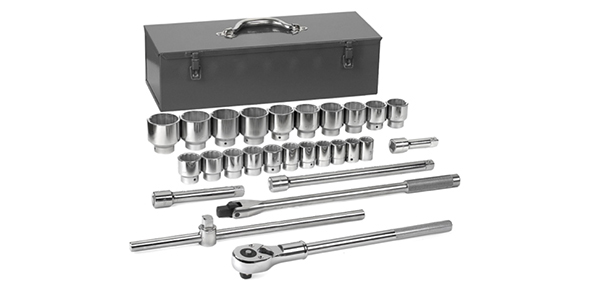 GEARWRENCH Extends Industrial Offerings With New Chrome Ratchets, Sockets And Accessories