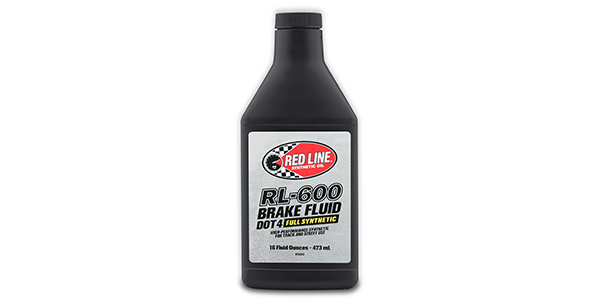 Red Line Introduces RL-600 Full Synthetic Brake Fluid