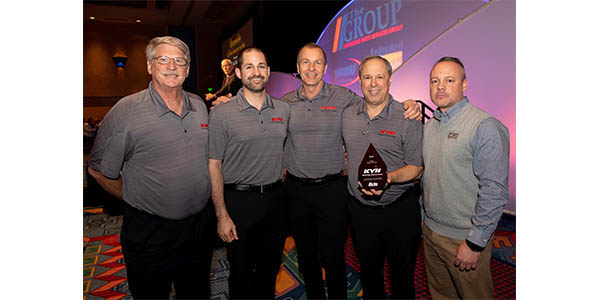KYB Named Co-Man Vendor Of The Year By The Group; Autolite Earns Co-Man Order Fill Honor
