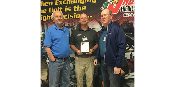JASPER Engines & Transmissions Celebrates Key Suppliers