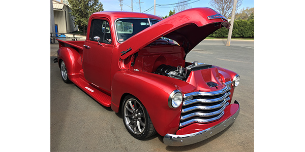 Raybestos 1953 Chevrolet Pickup Delivered To Winner