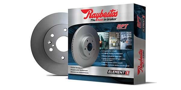 Raybestos Expands Line Of Element3 Coated Rotors