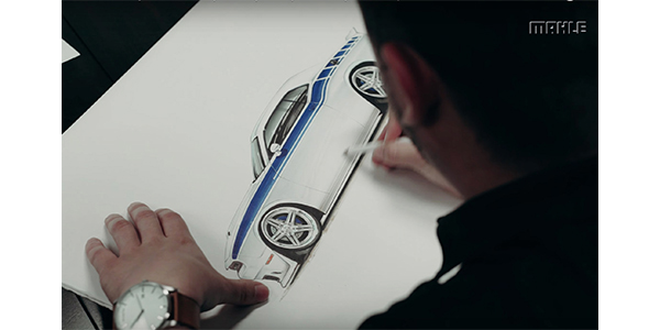MAHLE Aftermarket Launches Video Series Documenting Petty's Garage Build Of Dodge Challenger