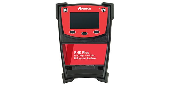 Robinair Unveils New Refrigerant Analyzers For Vehicles Equipped With R-134a Or R-1234yf A/C Systems