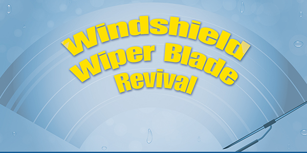 Windshield Wiper Blade Revival