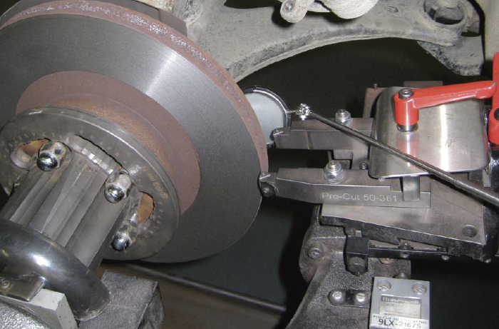 This image has an empty alt attribute; its file name is Brake-rotor-resurface-2.jpg