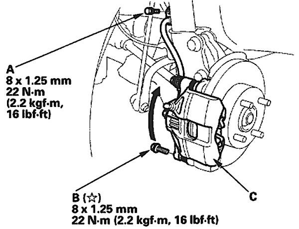 Brake Job On 2000 2006 Honda Insight