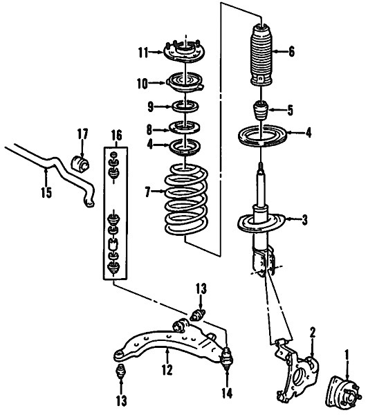 2014 Chevy Cruze Bumper Parts Diagram also 7dcbd Buick Century O2 Sensor Heater Fuse Located together with Discussion T24806 ds536116 as well Camshaft Position Sensor Location 2008 Buick Enclave together with Buick Lucerne Strut Bearing Diagram. on buick verano wiring diagram