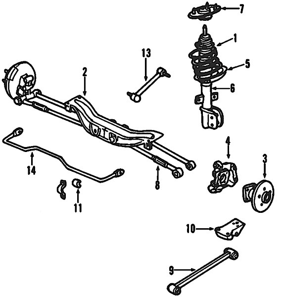 2005 chevy impala exhaust diagram