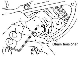 Nissan VQ35-Series Water Pump: Chain-Driven Water Pump
