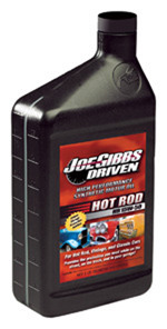 joe gibbs driven hot rod oil has higher levels of zinc (zddp) than regular passenger car oils. it delivers proper anti-wear protection for older style push-rod and flat-tappet engines.
