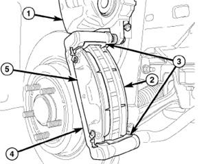 61086inspection_00000022360 brake job chrysler 300 300c, dodge magnum challenger charger brakes