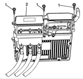 power assist servicing saturn vue hybridssaturn vue\u0027s auxiliary control module