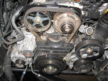 engine maintenance timing belt replacement on lexus gs 300s Timing Belt Lexus RX photo 2 color coding the timing marks will help avoid confusion