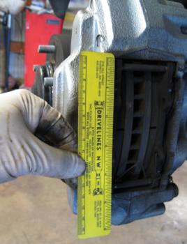 BRAKE JOB: Toyota Tundra Brake Caliper Upgrade