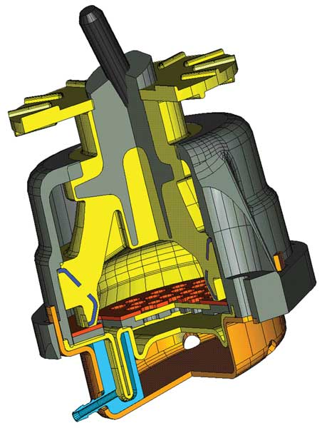 Tech Feature Active Motor And Trans Mounts