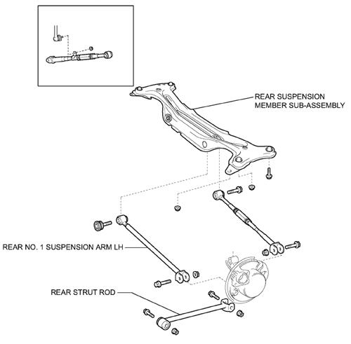 alignment  u0026 suspension specs  2005