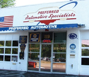 preferred automotive specialists, jenkintown, pa